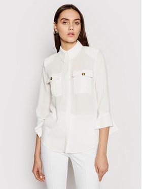 Elisabetta Franchi Elisabetta Franchi Košulja CA-323-11E2-V270 Bijela Regular Fit