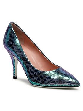 Pollini Pollini Pantofi cu toc subțire SA10018C1CTK0700 Verde