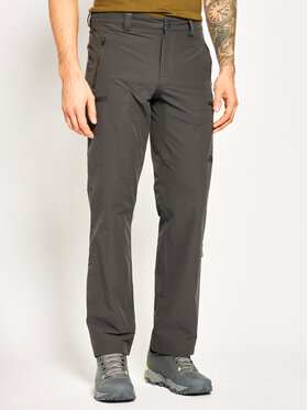 The North Face The North Face Spodnie outdoor Exploration NF00CL9R0C51 Szary Regular Fit
