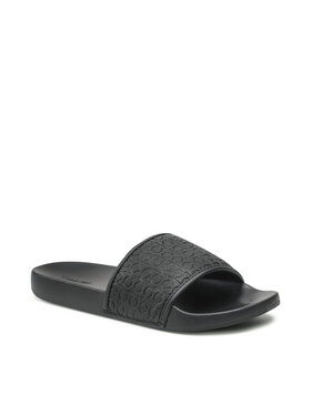 Calvin Klein Jeans Calvin Klein Jeans Šľapky Slide Mono Pu HM0HM00274 Čierna