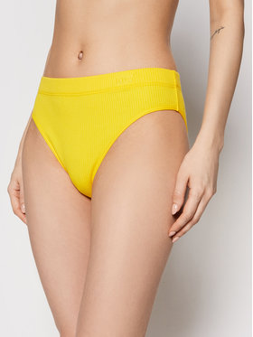 Levi's® Levi's® Klasické nohavičky s vysokým pásom Rib High Rise 16611-0004 Žltá