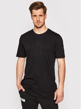 Puma Puma Marškinėliai Tfs Graphic Tee 597614 Juoda Regular Fit