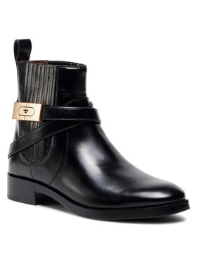 Tory Burch Tory Burch Členková obuv s elastickým prvkom 30Mm Chelsea Bootie 74354 Čierna