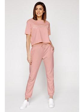 Sprandi Sprandi T-Shirt SS21-TSD003 Różowy Cropp Fit