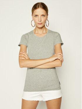 Emporio Armani Underwear Emporio Armani Underwear Marškinėliai 163139 9P263 00748 Pilka Slim Fit