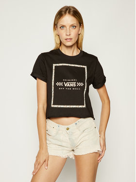Vans Vans T-shirt Leila VN0A4CWXBLK Nero Regular Fit