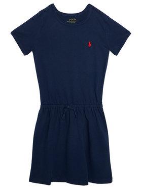 Polo Ralph Lauren Polo Ralph Lauren Každodenné šaty Tie Frnt 312833945008 Tmavomodrá Regular Fit