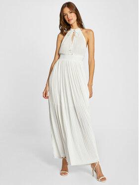 Morgan Morgan Sukienka wieczorowa 211-RSOL Biały Regular Fit
