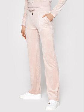 Juicy Couture Juicy Couture Teplákové kalhoty Del Ray JCAP180 Růžová Regular Fit