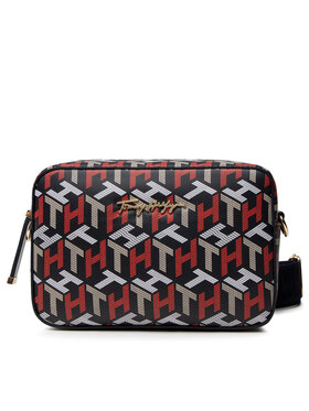 Tommy Hilfiger Tommy Hilfiger Táska Iconic Tommy Camera Bag Crp Mono AW0AW10271 Piros