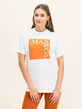 MAX&Co. MAX&Co. T-shirt 49749619 Bianco Regular Fit