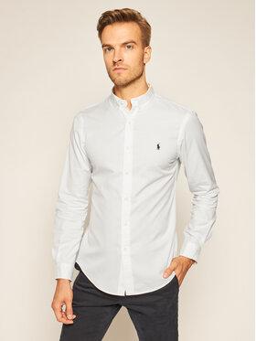 Polo Ralph Lauren Polo Ralph Lauren Hemd Slbdppcs 710815557001 Weiß Slim Fit