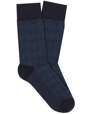Vistula Vistula Чорапи дълги мъжки Flander XZ0576 Тъмносин