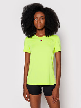 Tommy Hilfiger Tommy Hilfiger Funkční tričko Fabric Mix S10S101057 Žlutá Regular FIt