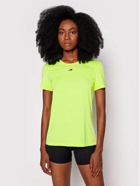 Tommy Hilfiger Tommy Hilfiger Тениска от техническо трико Fabric Mix S10S101057 Жълт Regular FIt