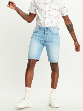 Levi's® Levi's® Szorty jeansowe 501® Original 36512-0090 Niebieski Regular Fit