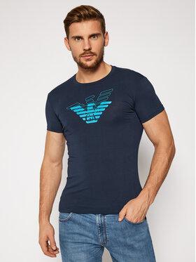 Emporio Armani Underwear Emporio Armani Underwear Tričko 111035 0A725 00135 Tmavomodrá Slim Fit