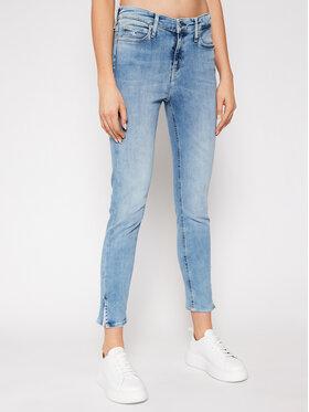 Calvin Klein Jeans Calvin Klein Jeans Džínsy Ankle J20J215401 Modrá Skinny Fit
