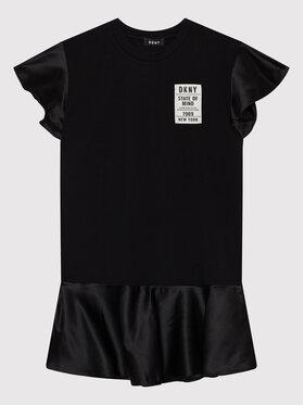 DKNY DKNY Každodenné šaty D32800 M Čierna Regular Fit