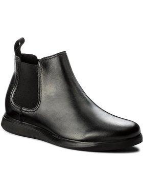 Gino Rossi Gino Rossi Kotníková obuv s elastickým prvkem Vero MSV944-Y24-0087-9900-F Černá