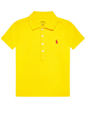Polo Ralph Lauren Polo Ralph Lauren Polo Ss Polo 312698589087 Żółty Regular Fit