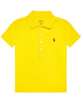 Polo Ralph Lauren Polo Ralph Lauren Тениска с яка и копчета Ss Polo 312698589087 Жълт Regular Fit