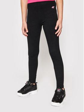 4F 4F Leggings JLEG001 Noir Slim Fit