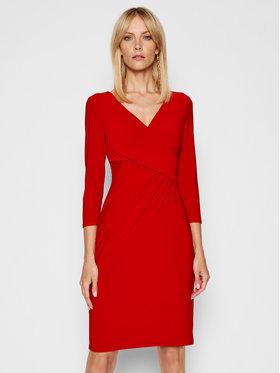 Lauren Ralph Lauren Lauren Ralph Lauren Коктейлна рокля 250768183018 Червен Regular Fit