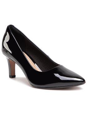 Clarks Clarks Обувки на ток Illeana Tulip 261531794 Черен