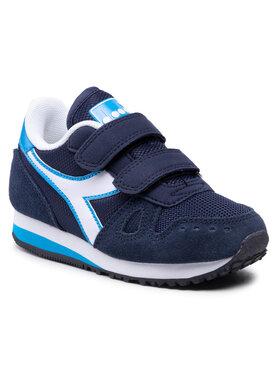 Diadora Diadora Sneakersy Simple Run Ps 101.174383 01 C2592 Tmavomodrá