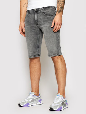 Tommy Jeans Tommy Jeans Szorty jeansowe Ronnie DM0DM09500 Szary Relaxed Fit