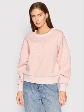 Guess Guess Bluza Corina W1BQ04 K7UW2 Różowy Regular Fit
