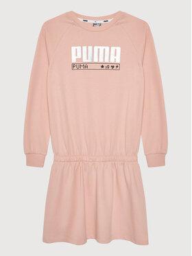 Puma Puma Sukienka codzienna Alpha 583306 Różowy Regular Fit