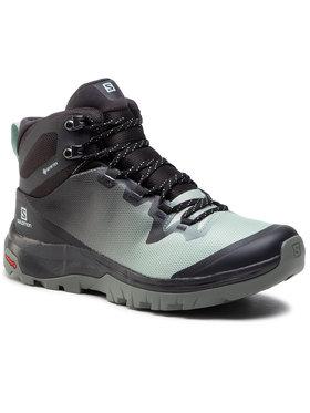 Salomon Salomon Chaussures de trekking Vaya Mid Gtx GORE-TEX 413014 Gris