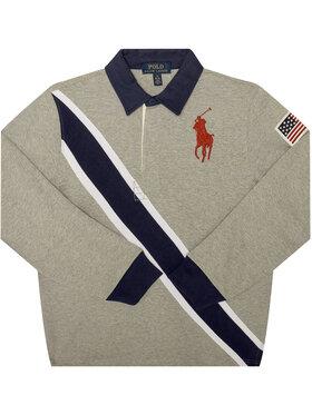 Polo Ralph Lauren Polo Ralph Lauren Polo marškinėliai Summer II 323786428001 Pilka Regular Fit