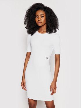 Calvin Klein Jeans Calvin Klein Jeans Hétköznapi ruha J20J215679 Fehér Slim Fit