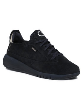 Geox Geox Sneakersy D Aerantis A D02HNA 00022 C4002 Tmavomodrá