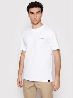 Dickies Dickies T-Shirt Ss Loretto DK0A4X9OWHX Biały Regular Fit