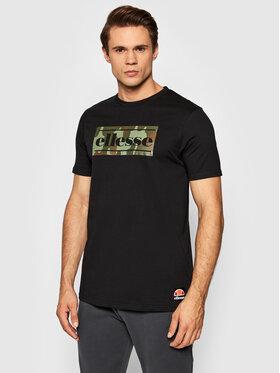 Ellesse Ellesse T-Shirt Avel SHK12207 Czarny Regular Fit