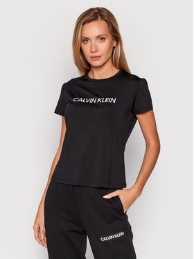 Calvin Klein Performance Calvin Klein Performance Maglietta tecnica 00GWF1K140 Nero Slim Fit