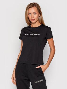 Calvin Klein Performance Calvin Klein Performance Technisches T-Shirt 00GWF1K140 Schwarz Slim Fit
