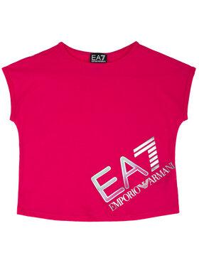 EA7 Emporio Armani EA7 Emporio Armani T-Shirt 3HFT54 FJ22Z 1401 Rosa Regular Fit