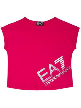 EA7 Emporio Armani EA7 Emporio Armani T-shirt 3HFT54 FJ22Z 1401 Ružičasta Regular Fit