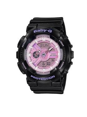 Baby-G Baby-G Hodinky BA-110PL-1AER Černá