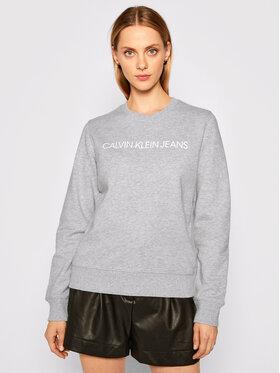 Calvin Klein Jeans Calvin Klein Jeans Bluza J20J209761 Szary Regular Fit