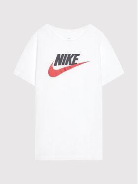 Nike Nike T-Shirt Sportswear AR5252 Biały Standard Fit