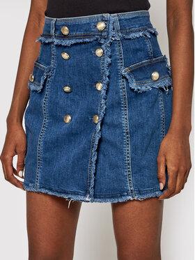 Liu Jo Liu Jo Jeans suknja UA1109 D4506 Plava Regular Fit