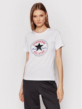Converse Converse T-shirt Chuck Patch Classic Blanc Regular Fit
