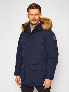 Napapijri Napapijri Winterjacke Skidoo Open Long 2 NP0A4ENP Dunkelblau Regular Fit