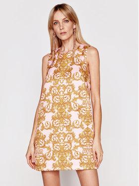 Versace Jeans Couture Versace Jeans Couture Sukienka koktajlowa D2HWA449 Różowy Regular Fit